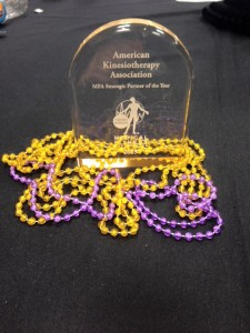 The AKTA was named the Medical Fitness Association Strategic Partner of the Year.  Thank you MFA for all your support!